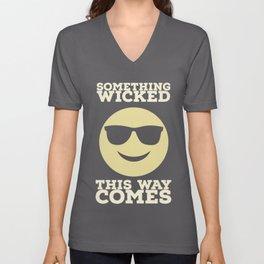 Something Wicked This Way Comes - Badass Shakespeare (Alternative) Unisex V-Neck