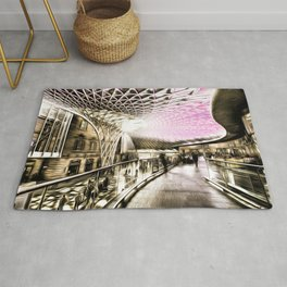 Futuristic London Art Rug