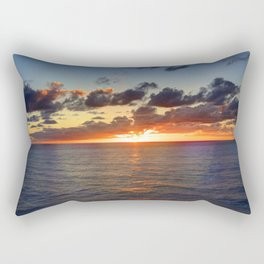 Sunrise at Nouméa Rectangular Pillow