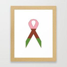Gynesexual Ribbon Framed Art Print