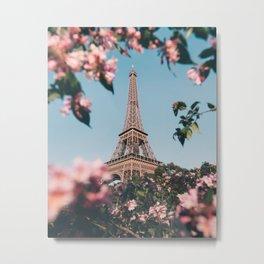 Paris in spring #society6 #decor #buyart Metal Print