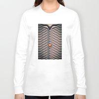 dot Long Sleeve T-shirts featuring Dot V (melt) by Metron
