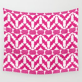 Radish Pink Pop Wall Tapestry