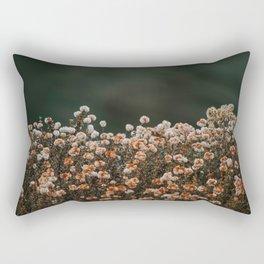 Oceanside Flowers Rectangular Pillow