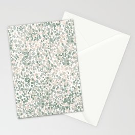 Lighthearted Flamingo Green Stationery Cards