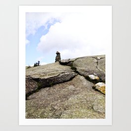Mountain Carin 3 Art Print