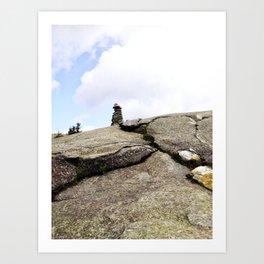 Mountain Carin 3 Art Print