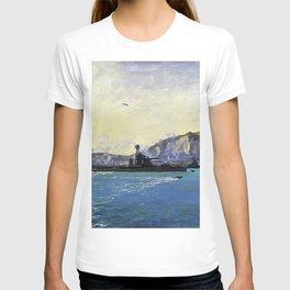 12,000pixel-500dpi - Sir John Lavery - Monitors, Dover Harbour - Digital Remastered Edition T-shirt