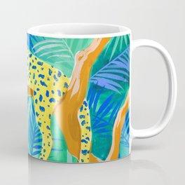 Leopard on Tree Coffee Mug