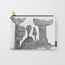 Island of tree Carry-All Pouch
