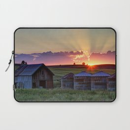Home Town Sunset Laptop Sleeve