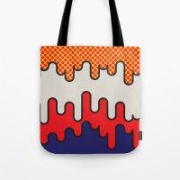 lichtenstein Tote Bags featuring Lichtenstein by John Tibbott