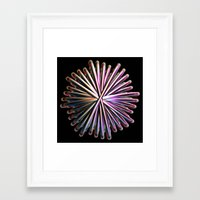 the wire Framed Art Prints featuring Wire Circle by Brian Raggatt