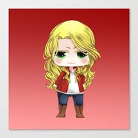 ouat Canvas Prints featuring OUAT - Chibi Emma Swan by Yorlenisama