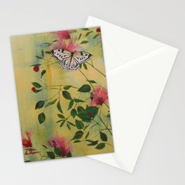 Rice Paper Butterfly Stationery Cards