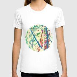 An Homage to Pollock T-shirt