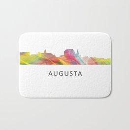 Augusta Georgia Skyline Bath Mat