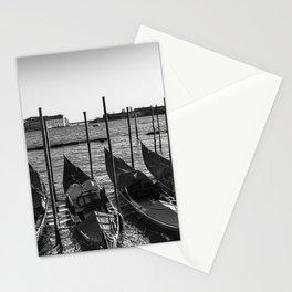 Gondolas in Venice Stationery Cards