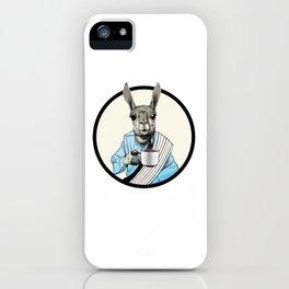 Java Llama iPhone Case