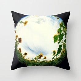 Sunflower 11 Throw Pillow