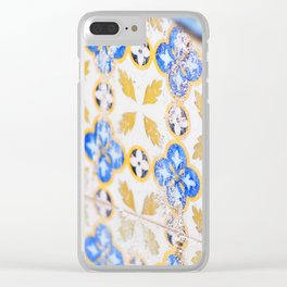 135. Destroy pattern, Cuba Clear iPhone Case