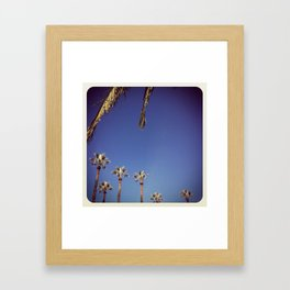 november sunday Framed Art Print