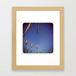november sunday Framed Art Print
