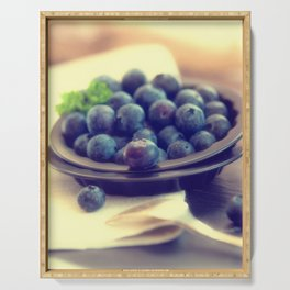 #edeles #blueberries #kitchens #desing #picture #decoration Serving Tray