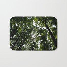 Forest Canopy Art Decor. Bath Mat
