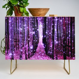 Magical Forest Pink & Purple Credenza