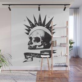Misfit Skull Wall Mural