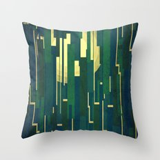 Night in the swamps Throw Pillow