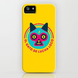 LUCHADORABLE iPhone Case