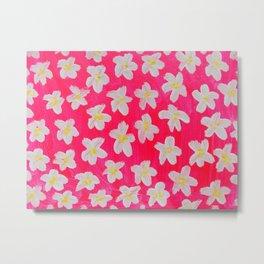 Pink Lacy Metal Print
