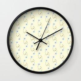 Dandelions III Wall Clock