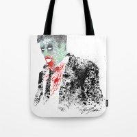 kieren walker Tote Bags featuring Walker by Evan