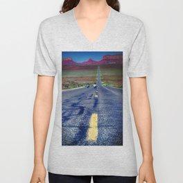 Monument Valley Twilight Unisex V-Neck