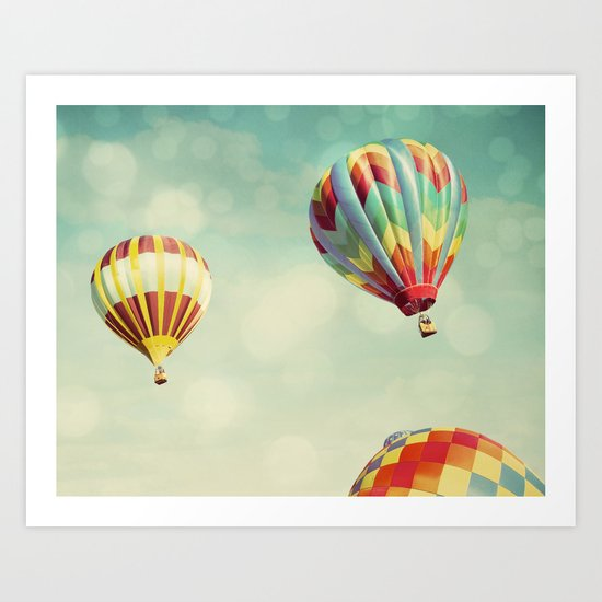 Perfect Dream - Hot Air Balloons Art Print