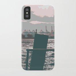 Hamburg docks iPhone Case