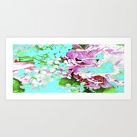 Flowers from my Lover 2 Art Print