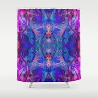 fairy tale Shower Curtains featuring fairy tale by Assiyam