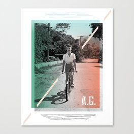 A.G. Collage Canvas Print