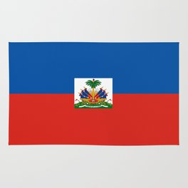 Haiti country flag Rug