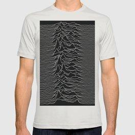 Unknown Radio Waves - Unknown Pleasures T-shirt