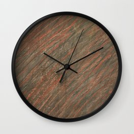 Hatch Texture 1 Wall Clock