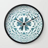 viking Wall Clocks featuring Viking by Truly Juel