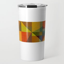 Color and Pattern Study Panorama Travel Mug