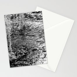 Water Fountain Abstract Stationery Cards