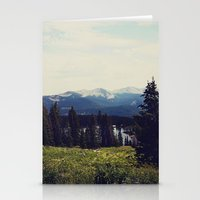 ashton irwin Stationery Cards featuring Lake Irwin by Teal Thomsen Photography