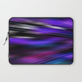 Re-Created  Feather ix by Robert S. Lee Laptop Sleeve